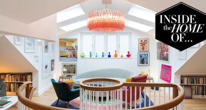 Mengintip Isi Rumah Pasangan Seniman London, Rob dan Nick Carter, Sebagai Inspirasi Interior yang Artsy