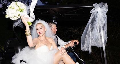 Akhirnya Gwen Stefani dan Blake Shelton Resmi Menikah Setelah 6 Tahun Bersama