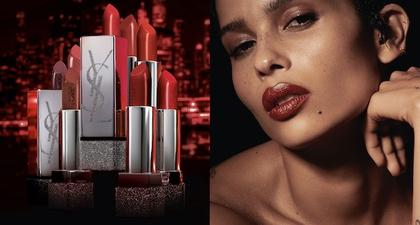 Ini Warna Baru di Koleksi Lipstik YSL Beauty yang Berkolaborasi Bersama Zoe Kravitz