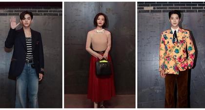 Sederet Penampilan Tamu VIP Gucci Aria Shanghai Fashion Show, Mulai dari NiNi, Lu Han, hingga Lucas NCT