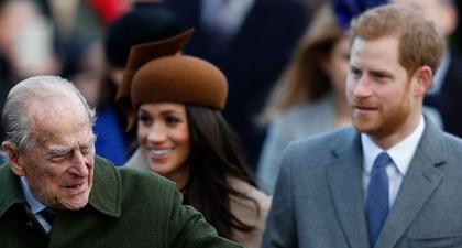 Pangeran Harry dan Meghan Markle Membagikan Pesan Belasungkawa kepada Pangeran Philip di Situs Archewell