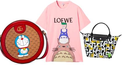Lihat Kolaborasi Animasi Jepang yang Menggemaskan pada Koleksi Kapsul Loewe, Gucci, dan Longchamp