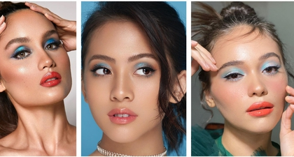 5 Artis Indonesia yang Pamerkan Riasan Eyeshadow Biru Ini Dapat Dijadikan Inspirasi