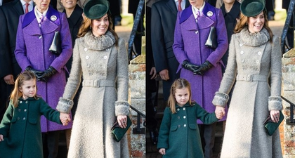 Putri Charlotte Lakukan Penghormatan yang Gemas ke Sang Ratu