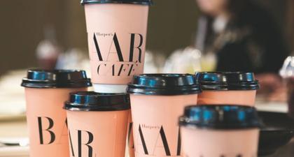 Harper's Bazaar Cafe Pertama di Dunia