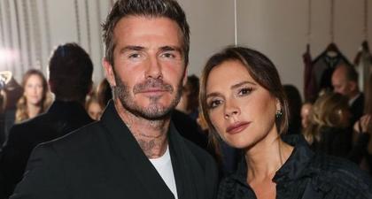 Foto Langka Victoria Beckham Tersenyum Diunggah ke Instagram