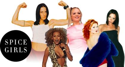 Tampilan Inspirasi Personel Spice Girls