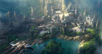 Intip Zona Khusus Star Wars di Disneyland