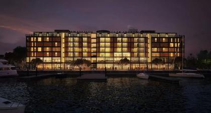 Park Hyatt Auckland, Hotel Baru dengan Pemandangan Pelabuhan