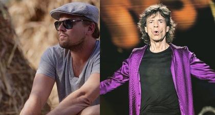 Kolaborasi Leonardo DiCaprio dengan Mick Jagger