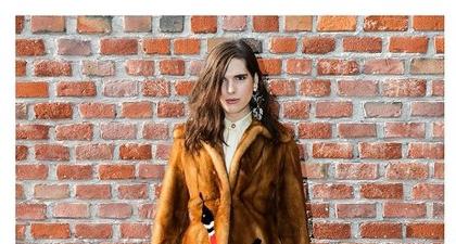 Tamu Selebriti Pada Presentasi Musim Gugur Dari Gucci