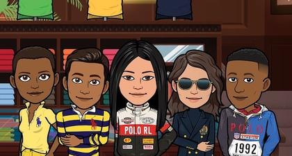 Kolaborasi Ralph Lauren dengan Snapchat dalam Bentuk Avatar