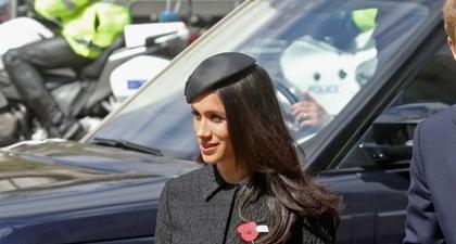 Kalung Inisial Meghan Markle Sempat Jadi Masalah di Istana