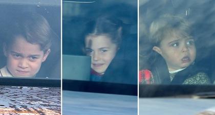Putri Charlotte Nikmati Christmas Lunch Bersama Keluarganya