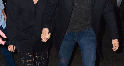 Taylor Swift dan Joe Alwyn Tampil Mesra di SNL After-Party