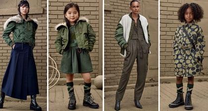 Koleksi Pakaian Anak Bergaya Militer Lansiran Zara Kids