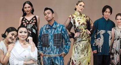 Tampilan Selebriti di IMAA 2020 Gunakan Desainer Indonesia