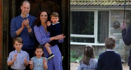 Lihat Foto Terbaru Pangeran George dan Putri Charlotte