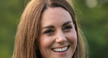 Kate Middleton Sambut Musim Gugur dengan Jaket Oversized Kotak-Kotak