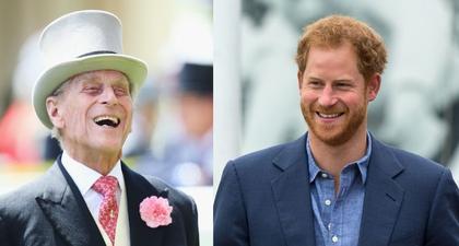 Bukti Wajah Pangeran Harry mirip dengan Sang Kakek