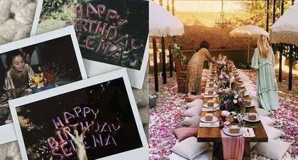 Intip Kemeriahan Acara Perayaan Ulang Tahun Selena Gomez