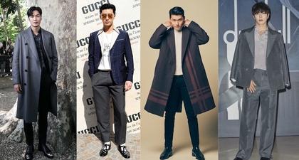 15 Aktor Korea Fashionable yang Akrab dengan Label Premium