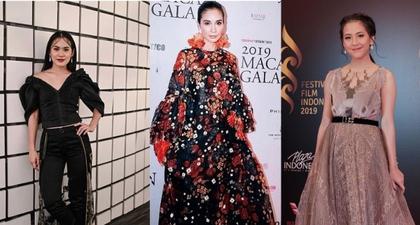 Tampilan Karpet Merah Selebriti Indonesia Terbaik di 2019