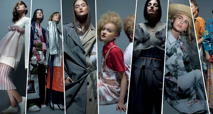 Foto-Foto Karya Desainer Muda Indonesia di ANFA 2018