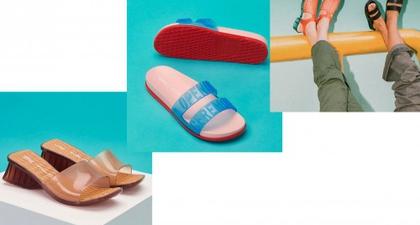 Inilah Koleksi Kolaborasi Sepatu Melissa X Opening Ceremony