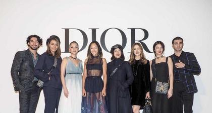 Kemeriahan Pesta Pembukaan Butik Dior di Jakarta